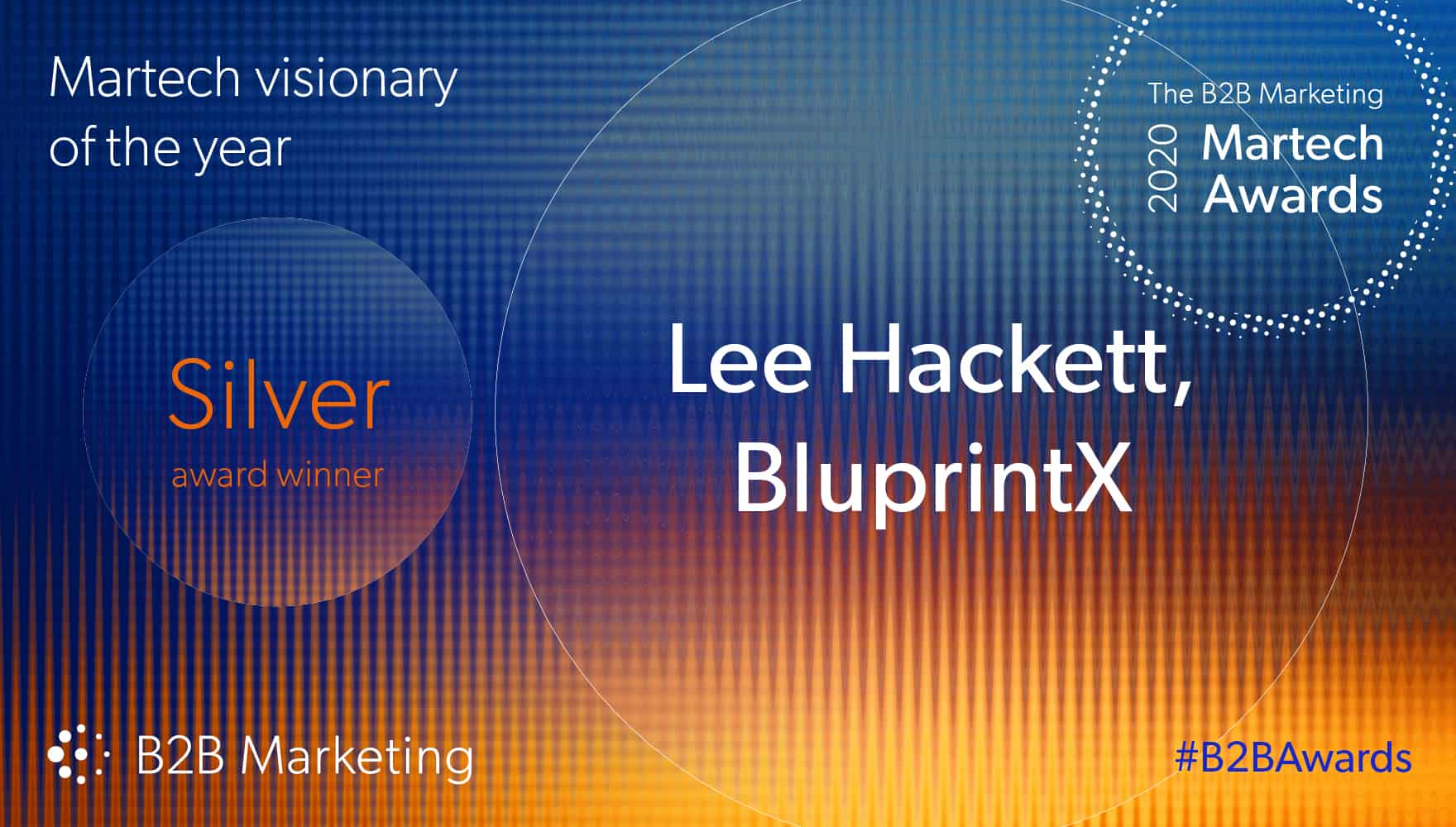 BluprintX CEO recognised as Martech Visionary